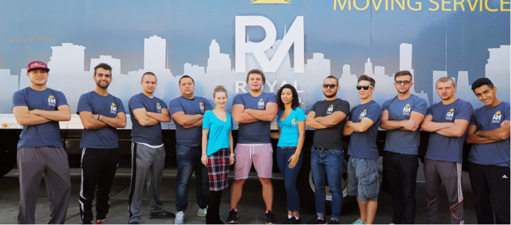 Royal Moving Company team
