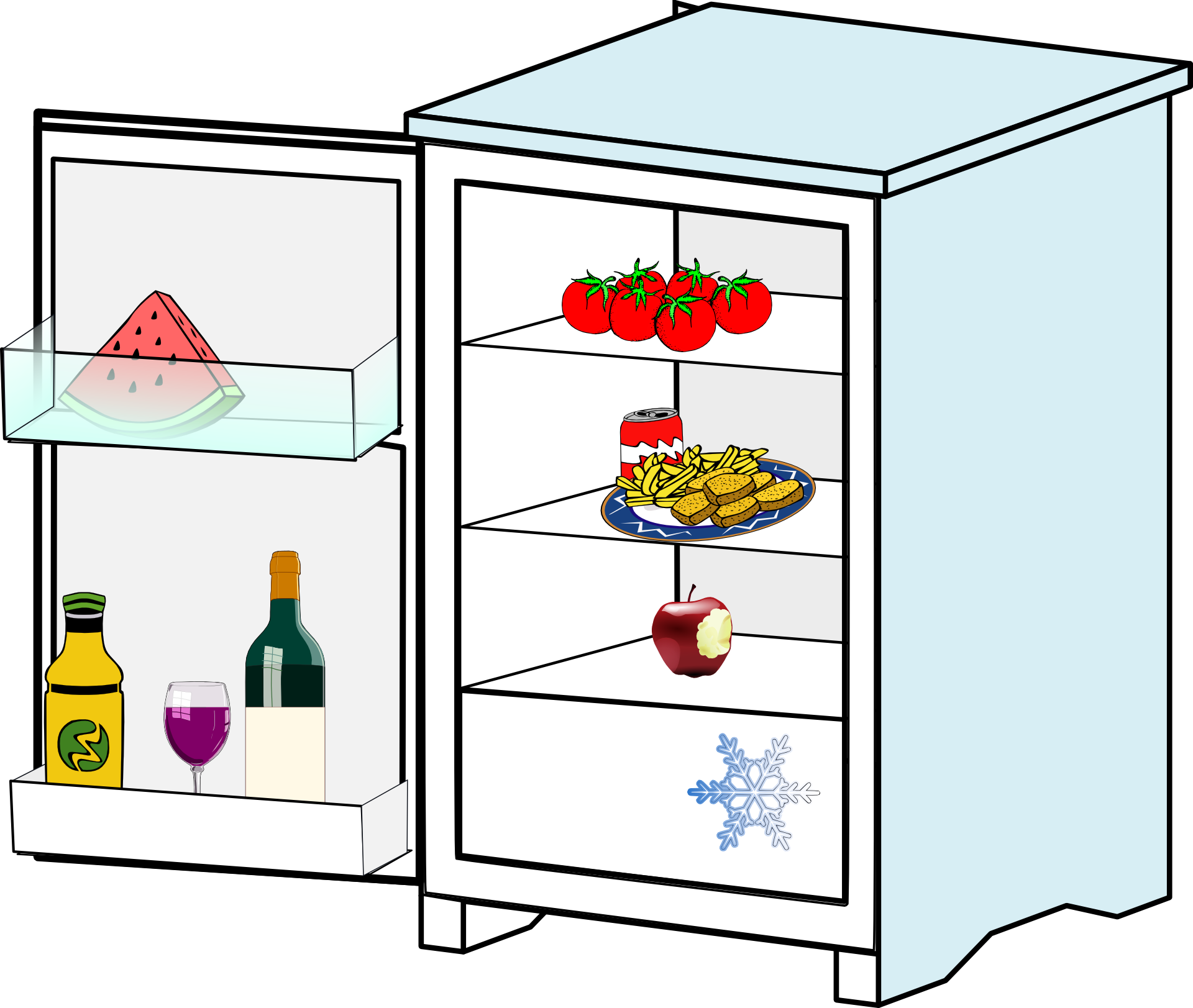 Moving Perishable Refrigerator Items