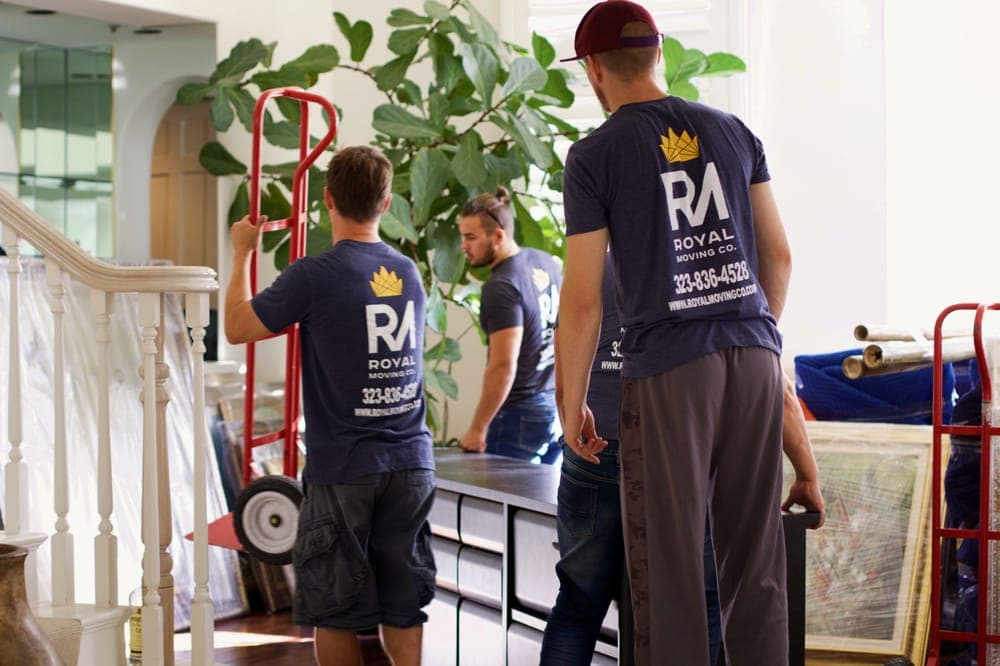 Packing With Royal Moving Company